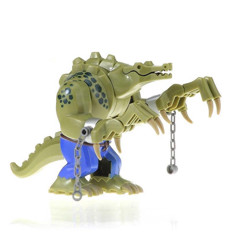 Promotie!! De Batman Krokodil Killer 10.5Cm Figuur Blokken Bouw Bouwstenen Speelgoed Voor Kinderen