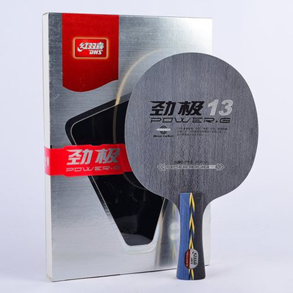 Original DHS Power G13 (PG13, PG 13) table tennis blades table tennis rackets racquet sports ping pong paddles dhs rackets hot janus professional six star table tennis blades table tennis rackets racquet sports ping pong paddles quick attack rackets