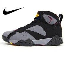 reputable site 557d2 d962d Authentic Nike Air Jordan 7 Bordeaux AJ7 Women s Basketball Shoes Sneakers  Sport