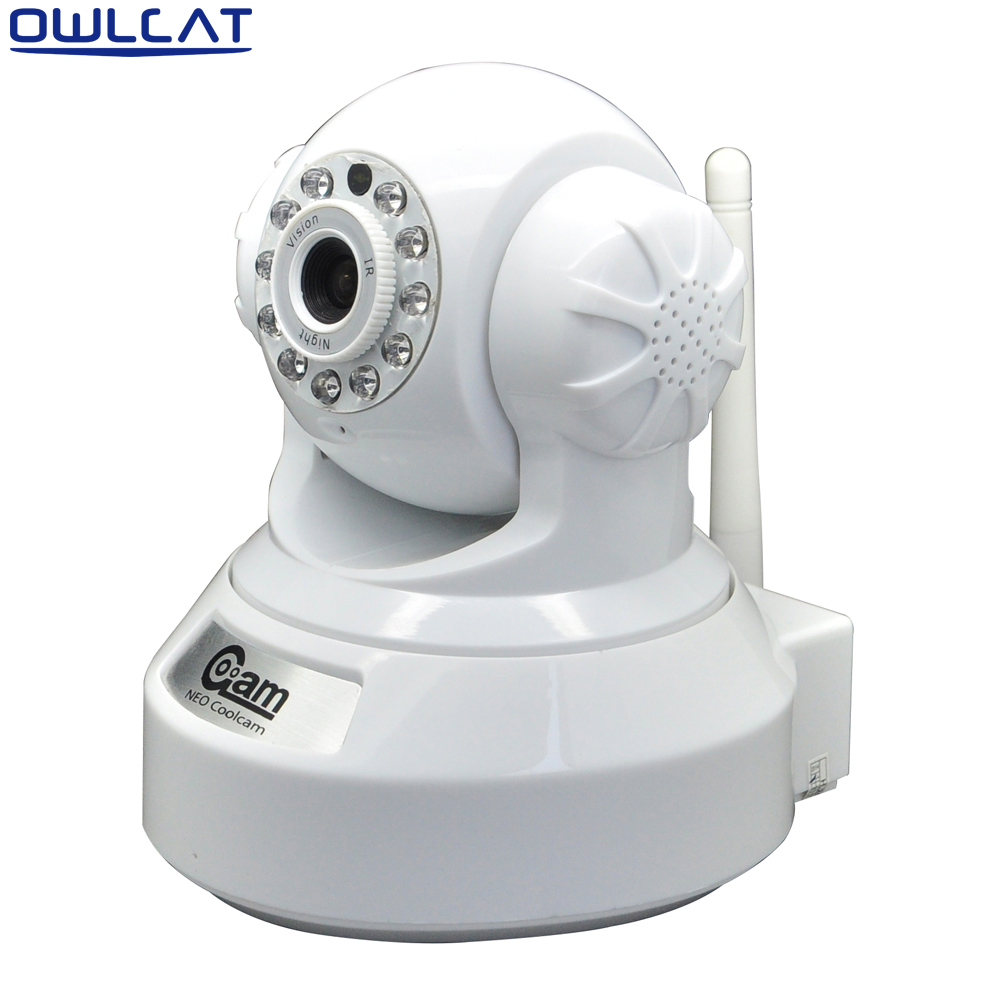 NEO Coolcam HD 720P Megapixel Dome IP Camera Wifi 3.6mm Lens Pan Tilt Rotate P2P Micro SD Card IR Night Vision Two-way Audio neo coolcam hd 720p megapixel dome ip camera wifi pan tilt rotate p2p wireless support sd card ir night vision two way audio