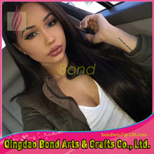 130 Density Full Lace Human Hair Wigs For Black Women Peruvian Lace Front Wig Silky Straight Human Hair Full Lace Hair Wigs