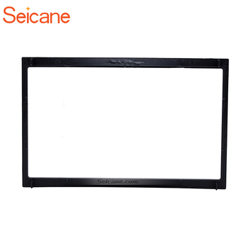 Seicane 2Din Car Stereo Radio Fascia For 2001-2008 PEUGEOT 307 Dashboard Mount Kit Adaptor CD Trim Auto Stereo Panel image