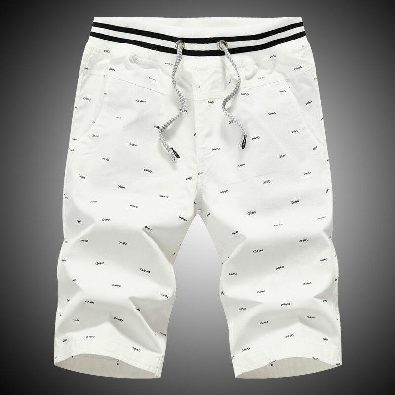 Mens 100%Cotton Casual Shorts Good Quality Men Short Pants New Fashion Summer Men Loose Casual Shorts Size 4XL