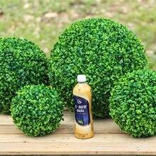 1pc (4 Größe) große Grün Künstliche Pflanze Ball Topiary Baum Buchsbaum Hochzeit Party Home Outdoor Decor pflanzen kunststoff gras ball