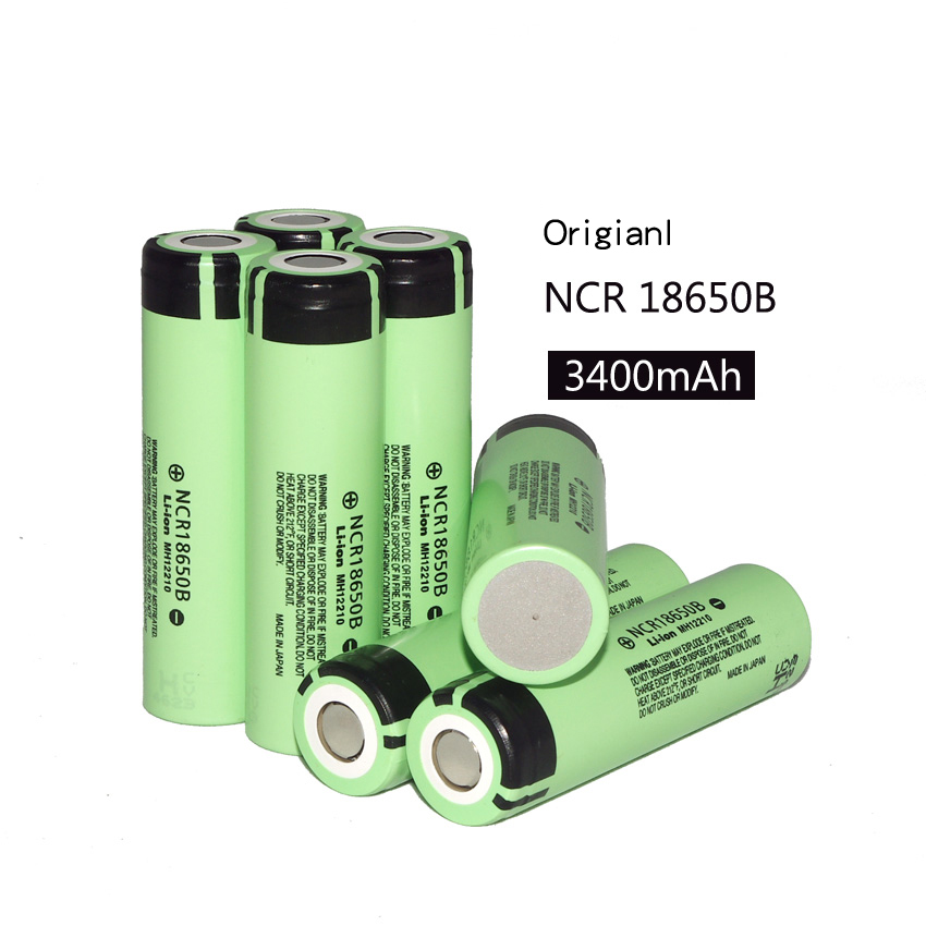 7 pcs new original <font><b>18650</b></font> <font><b>3400</b></font> <font><b>MAH</b></font> Li ion rechargeable <font><b>battery</b></font> 3.7 V <font><b>battery</b></font> for Panasonic ncr18650b <font><b>18650</b></font> <font><b>battery</b></font> <font><b>18650</b></font>
