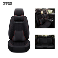 XWSN Auto Leather car seat cover For jeep renegade accessories compass 2018 grand cherokee covers for vehicle seats