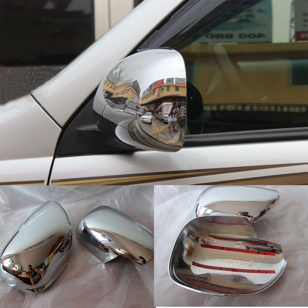 Chrome Rear View Side Mirror Cover For Toyota Land Cruiser
