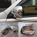 Chrome Rear-view Side Mirror Cover For Toyota Land Cruiser Prado FJ120 2003-2009 Model Accessories