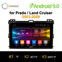 Ownice K1 K2 K3 Octa Core Android 9.0 Car DVD GPS Navigation for Prado 2004 2009 Land Cruiser 2003 4G LTE DAB+ DVR Car Play