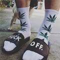Spring Summer Men Women Socks Fashion Harajuku Hiphop Maple Leaf Print Sock Harajuku Street Style Week Cotton Socks