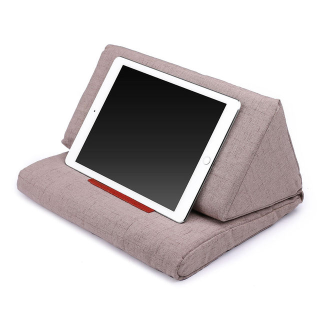 Us 17 11 14 Off Cotton Pillow Woven Apple Cusion Ipad Pillow Stand For Ipad Air Ipad 4 Ipad 3 Ipad 2 Ipad 1 Nexus Galaxy Khaki In Cushion From Home
