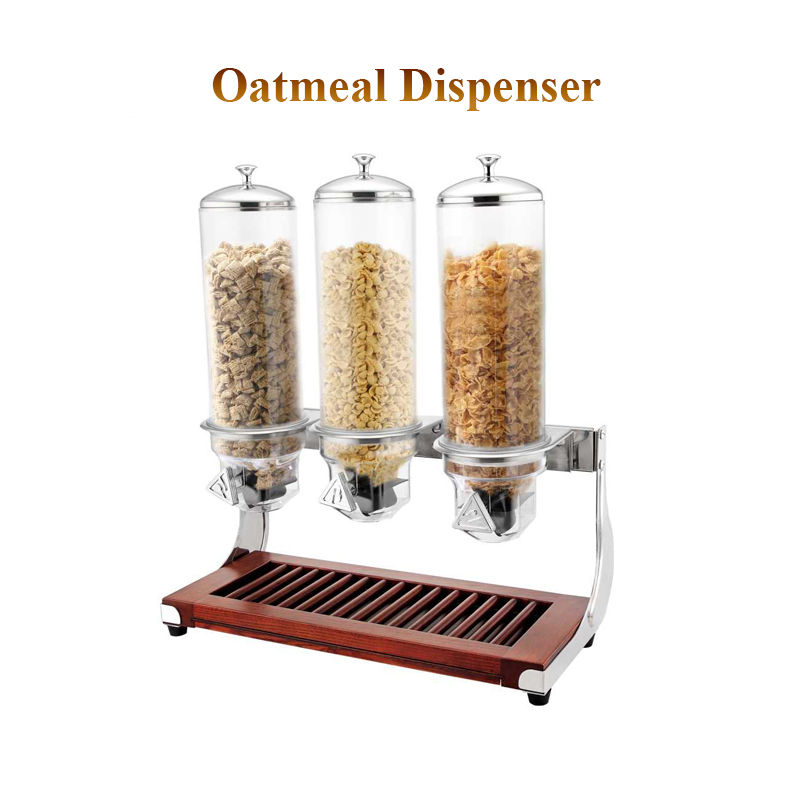 Oatmeal Dispenser Cornmeal divider Household Cereal Distributor Cereal Conservator Hotel and Catering Equipment U07-0430 kitlee40100quar4210 value kit survivor tyvek expansion mailer quar4210 and lee ultimate stamp dispenser lee40100