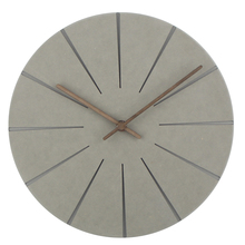 цена на Wood Wall Clock Simple Modern Nordic Minimalist Silent Clocks Artistic European Brief Wooden Wall Watch Home Decor