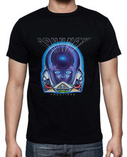 Journey Band Cover Album Classic  Mens Black T-shirt Size S-3XL Custom Made Good Quality T Shirt Top Tee Basic Models