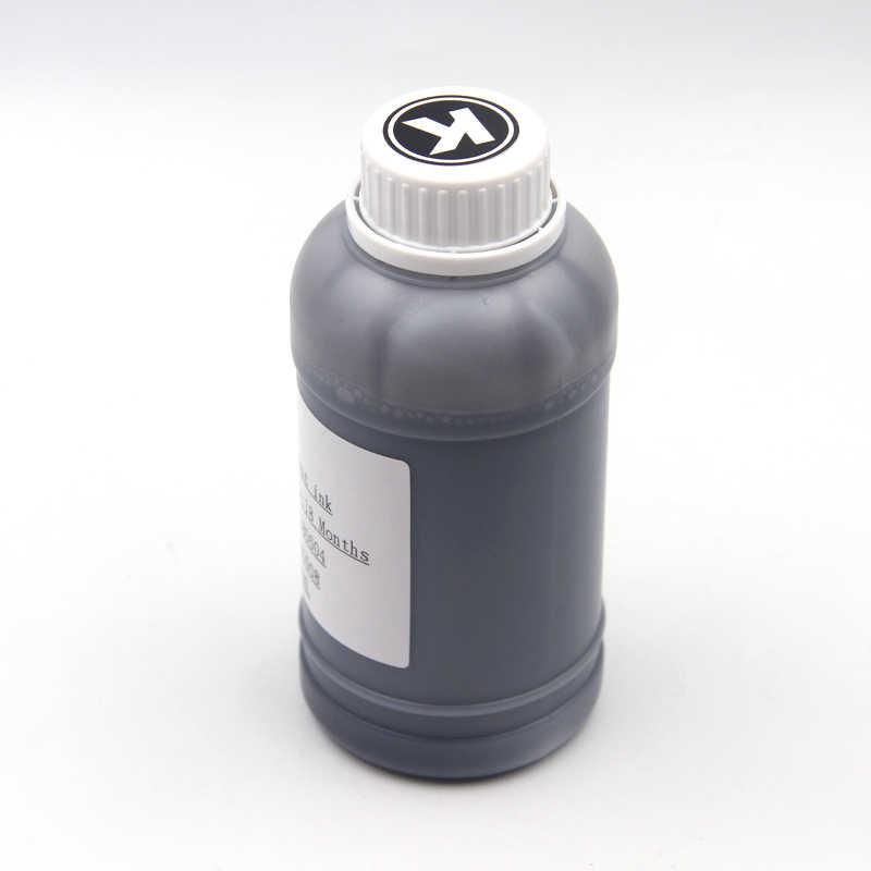 250 مللي/زجاجة العالمي حبر صبغ يمكن ملئه ثانية عدة لكانون لإبسون ل HP Brother طابعة نافثة للحبر الأسود C M Y & 100 مللي تنظيف عدة