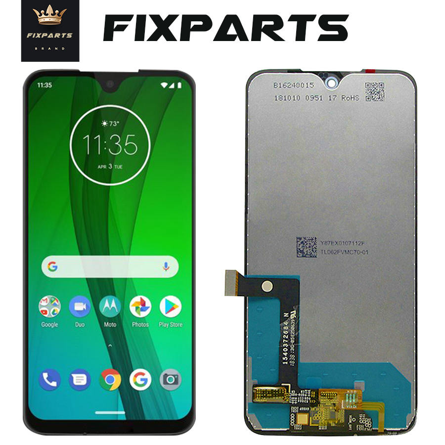 Original For Motorola Moto G7  XT1962 LCD G7 Play Display Touch Screen Sensor Panel Digiziter Assembly New For Moto G7 Power LCD
