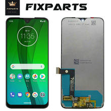 Original For Motorola Moto G7  XT1962 LCD Play Display Touch Screen Sensor Panel Digiziter Assembly New moto Power