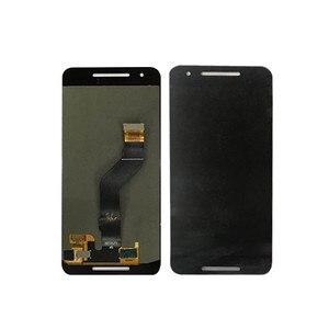 """Image 3 - 5.7 """"m & sen para huawei google nexus 6p tela lcd + painel de toque digitador com moldura para google nexus 6p exibição"""