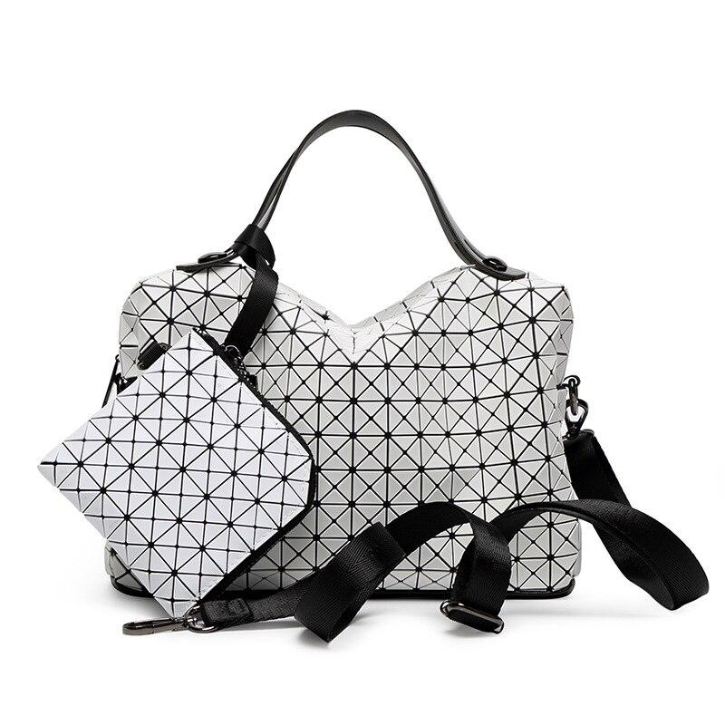 2Pce/Set Luxury Large Women Handbag Ladies Purse Leather Female Shoulder Crossbody Tote Bag Women Messenger Bag Bolsa Feminina