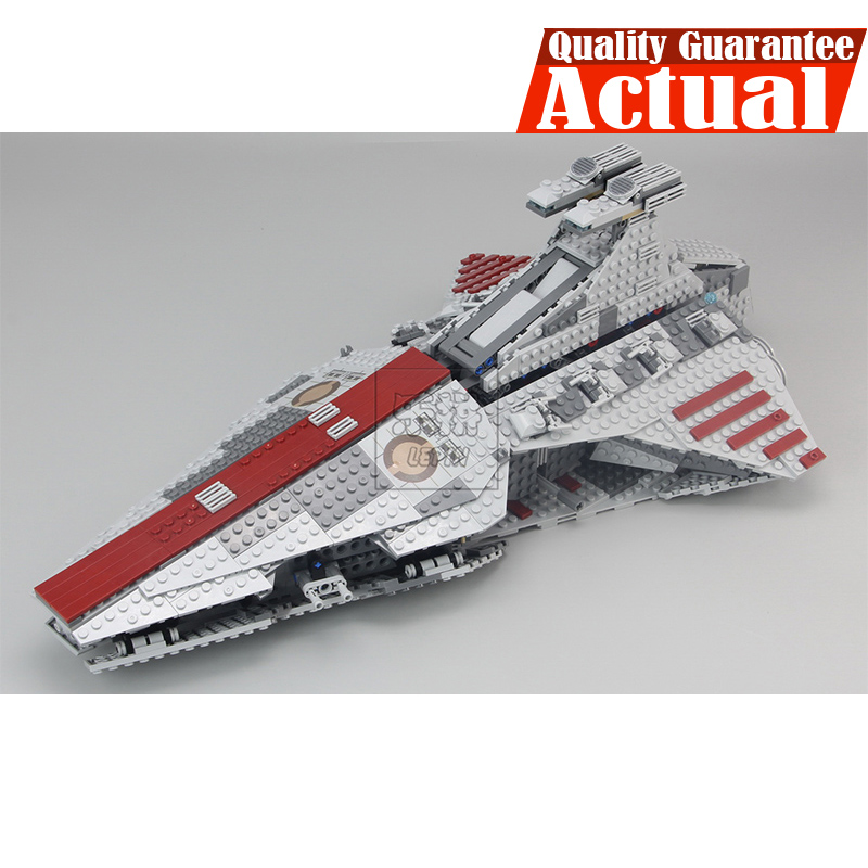 1218Pcs Lepin 05042 Star Venator-Class Republic Attack Cruiser Wars Set Model Building Blocks Toys for Children Kids Toys 8039
