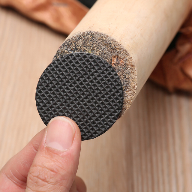 1/2/6/15/24Pcs Soft Thickening Bumper Chair Fittings Self-Adhesive Floor Protector Anti-Slip Mat Anti Rub Furniture Leg Pads 1