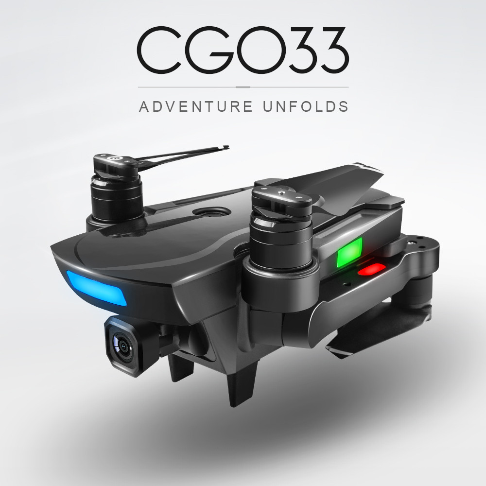 CG033 Brushless 2.4G FPV Wifi HD Camera GPS Altitude Hold Quadcopter Drone Gift 2018 Brusting Airplanes Christmas gift