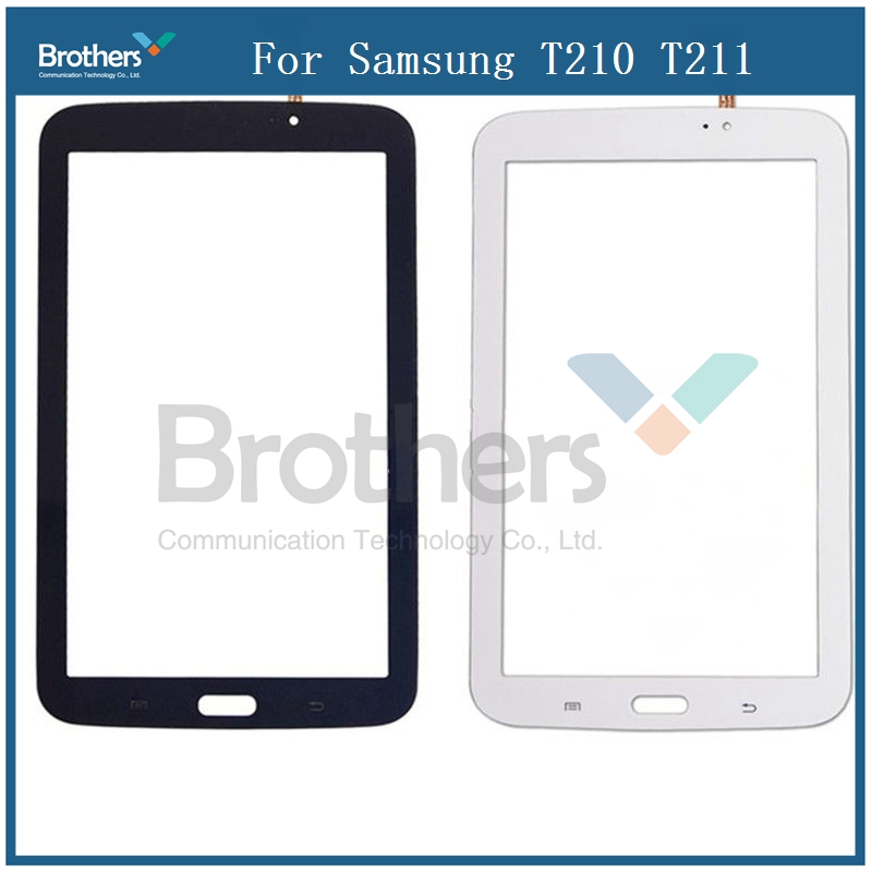 Tablet Touch Panel For Samsung Galaxy Tab 3 7.0 T210 T211 Touch Panel Digitizer Glass Sensor Lens SM-T210 SM-T211 LCD Screen цена