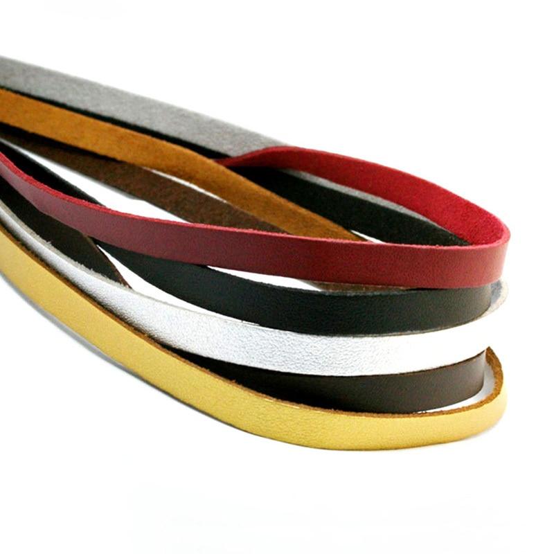 Flat Power Wire 8mm: 1meter/lot 8mm Suede Flat Leather Cord Bracelet Faux