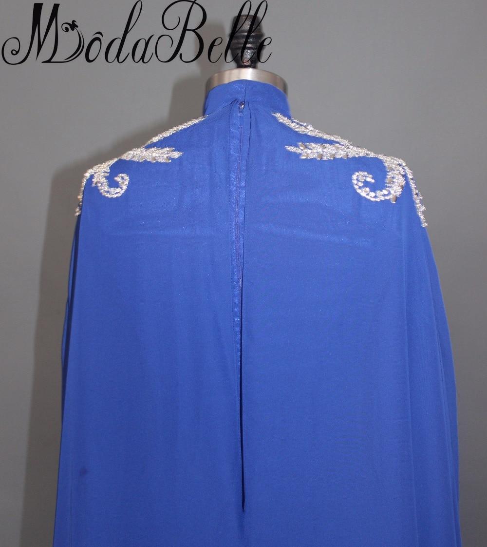 Modabelle Saudijska Arabija Muslim Večernja haljina s dugim Cape - Haljina za posebne prigode - Foto 5