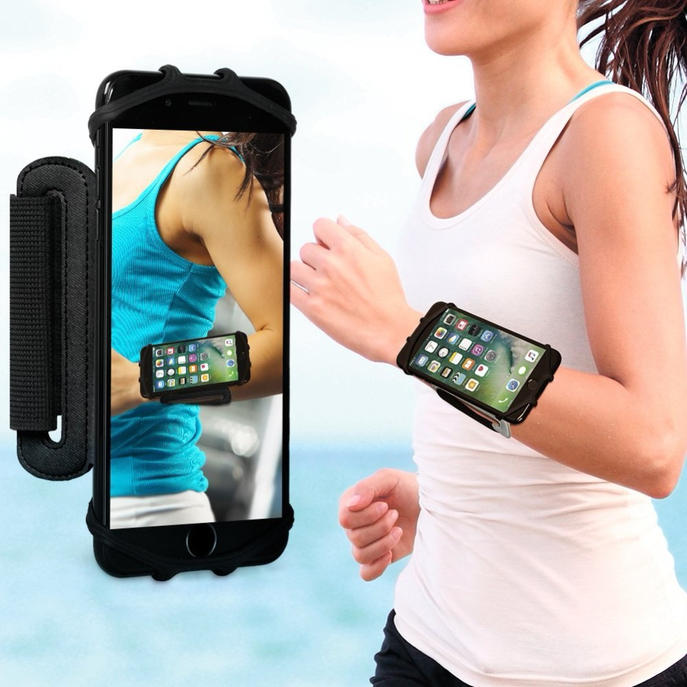 Armbands Cellphones & Telecommunications Popular Brand Gym Sports Running Armband For Iphone X Xs 5 Se 6 6s 7 8 Plus Mobile Phone Arm Bag Pouch Belt Wristband For Smartphone Below 6