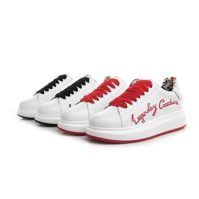 Skateboard Schuhe Fur Manner Sneaker Schwamm Kuchen Marke Weisse
