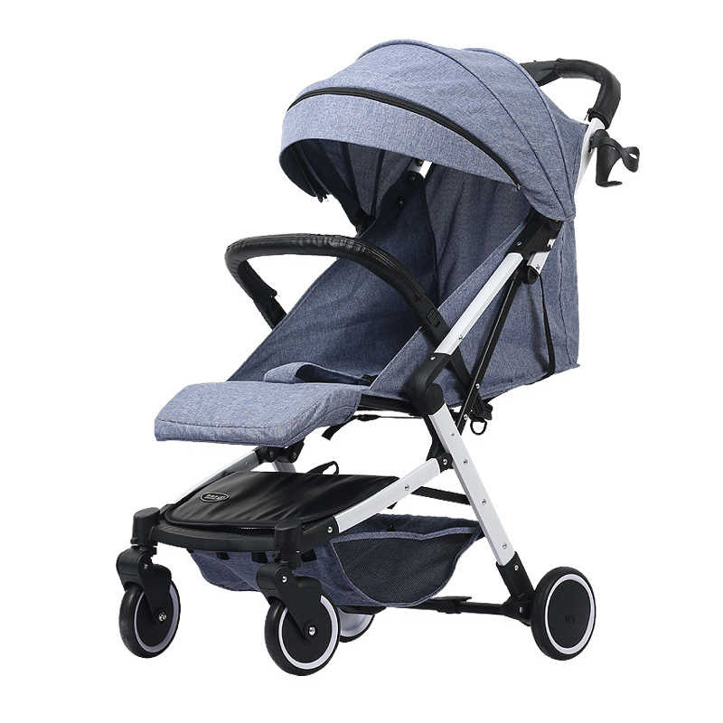 Portable lightweight folding baby stroller for children ultralight baby carriages 2 in 1 Can sit and lie down child pram