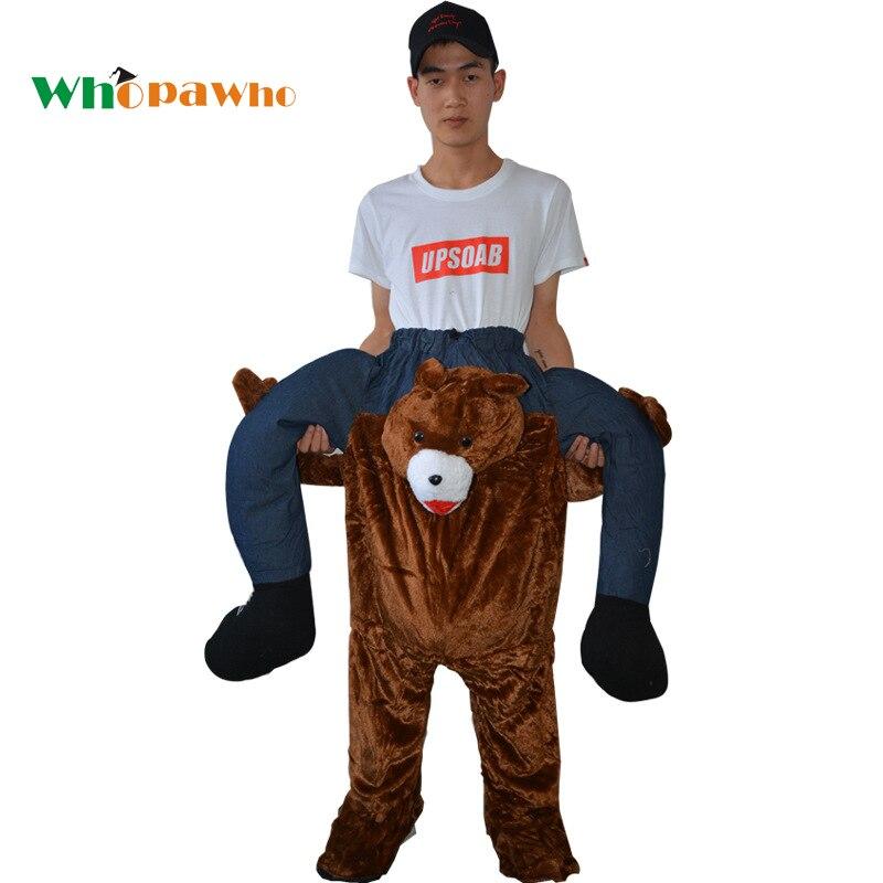 Adult Animal Costumes Halloween Teddy Bear Costume Funny Monkey Fancy Dress Cosplay Frog Pants  sc 1 st  AliExpress.com & Adult Animal Costumes Halloween Teddy Bear Costume Funny Monkey ...