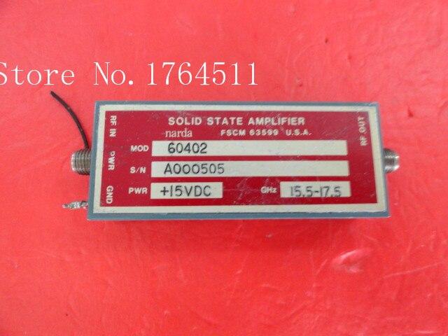 [BELLA] NARDA 60402 15.5-17.5GHz 15V SMA Supply Amplifier