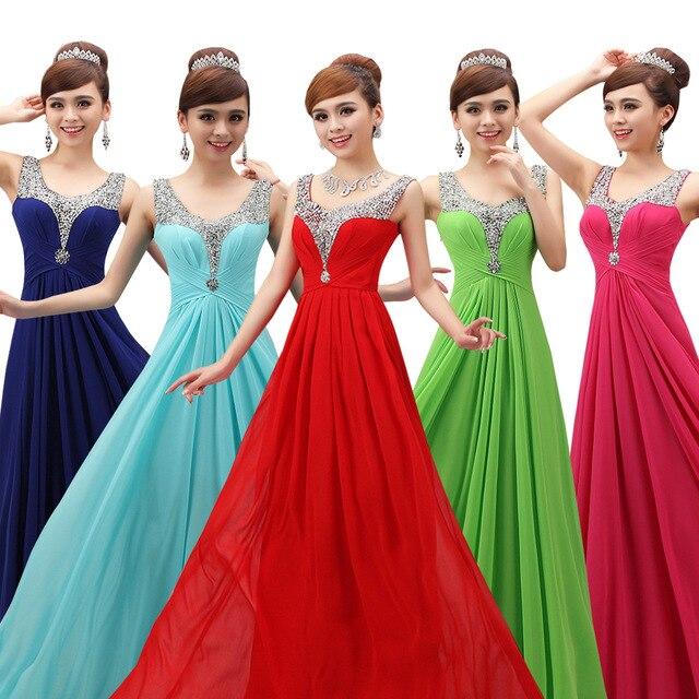 The formal party dress online long evening dress formal oblique modest party  dresses 215cc35dda53