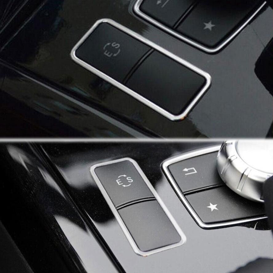 Mersedes Benz E Class W212 E200 E260 üçün BBQ @ FUKA Alüminium - Avtomobil daxili aksesuarları - Fotoqrafiya 4