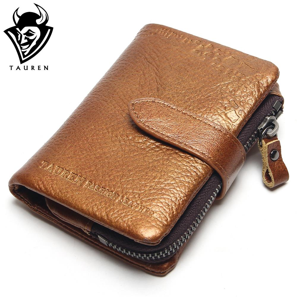 Classical European And American Style Men Wallets 100% Genuine Leather Wallet Fashion Zipper Brand Purse Card Holder Coin Purse teemzone top european and american fashion evening bag ladies genuine leather long style hasp note compartment wallet j25
