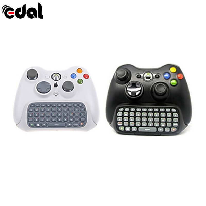 Wireless Controller Messenger Game Keyboard Keypad Chatpad For Xbox 360 Black White Game Accessories