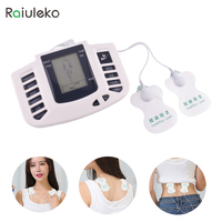 Raiuleko Electric Tens Unit Therapy Massager Pulse Muscle Relax Stimulator Body Foot Neck Shoulder Pain Relief
