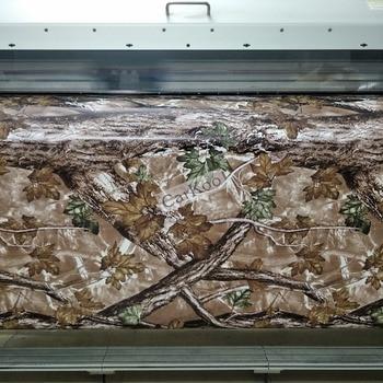 Vinilo de camuflaje envuelve las hojas en Realtree, patrón de camuflaje biónico para el coche que envuelve la etiqueta engomada del cuerpo del coche envío gratis