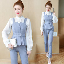 YICIYA outfit co-ord set for women suits OL office business vest top and pant suit female 2019 spring elegant clothing