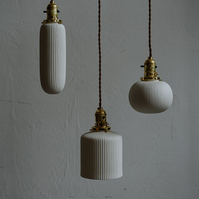 New custom handmade ceramic retro minimalist pendant lamp pleated new custom handmade ceramic retro minimalist pendant lamp pleated paper lantern translucent shade pendant lights for aloadofball Image collections