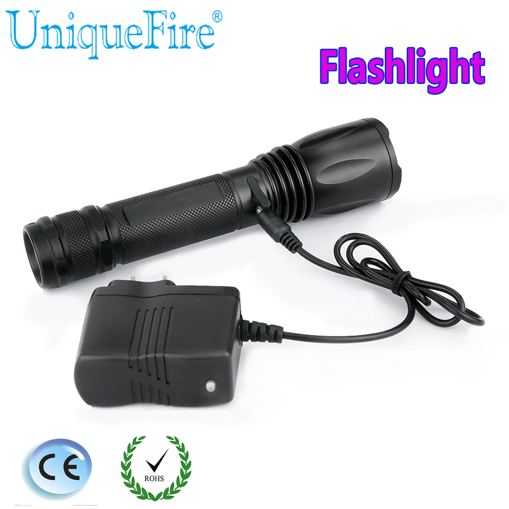 UniqueFire T02 Cree XML/XML2 LED 1200 LM Rechargeable Flashlight Zoom 3 Modes Lamp Torch For 18650 Battery sitemap xml