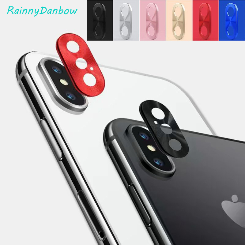 Brand New Camera Phone Lens Protective Case Cover Alloy Metal Cool Gadgets cap for Apple iPhone 7 8 Plus X XS MAX XR accessories