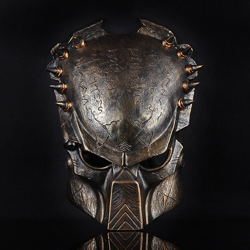 Hotsale Wolf Predator Masks Resin Full Face Party Mask Mascara Carnaval Halloween Costume Theater Prank Prop