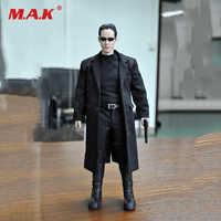 1/6 KMF034 personalizado la matriz Keanu Reeves figura de acción colección juguetes de muñeca regalo