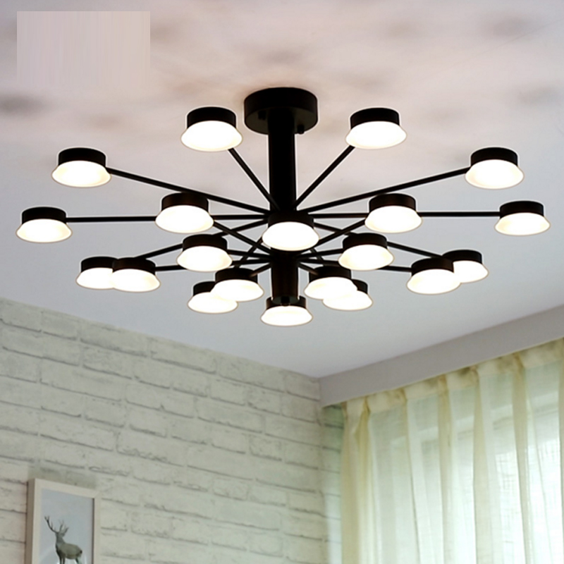 Modern ceiling light simple creative personality living room led ceiling lamp warm modern dining room lamp lights Hotel lighting
