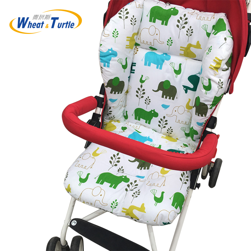 Activity & Gear Baby Stroller Cotton Cushion Seat Cover Mat Breathable Soft Car Pad Pushchair Urine Pad Liner Cartoon Star Mattress Baby Cart