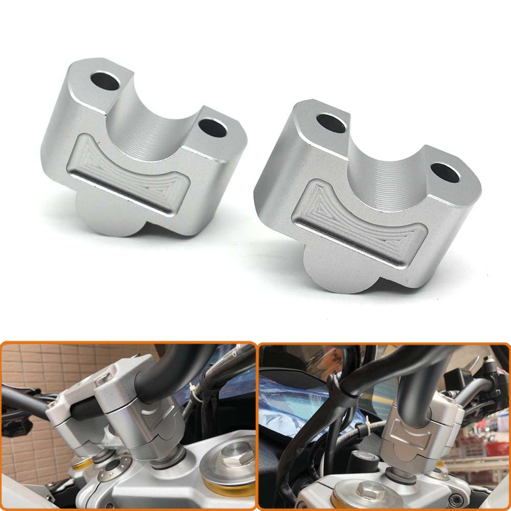 Motorcycle Handle Bar Riser Up 30mm Handlebar Riser Mount Clamp Adapter For BMW G310R G310GS <font><b>G</b></font> <font><b>310R</b></font> 310GS 2017 2018 2019 image