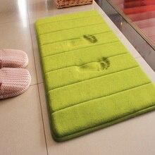SJ 40*60cm Non Slip Memory Foam Bath Mat For Bathroom Rugs Carpet banyo paspas